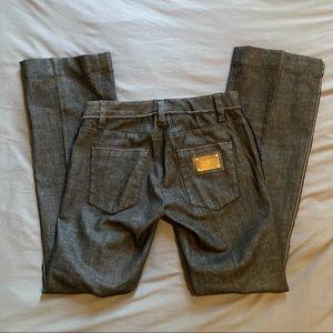 Dolce & Gabbana Flare Dark Wash Jeans